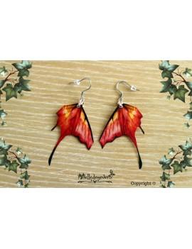 Fire Butterfly Fairy