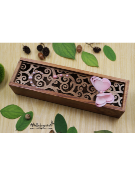 Pink Pearl Butterfly Box