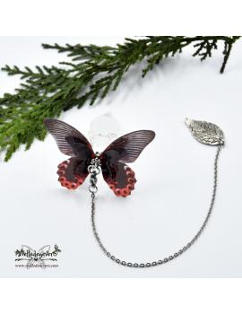 Pendule Papillon Ombeline