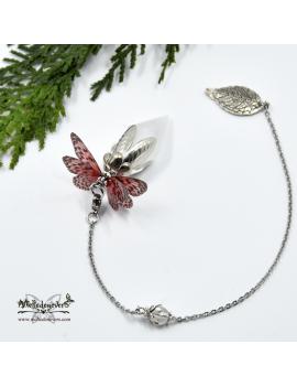 Pendule Papillon Passionata
