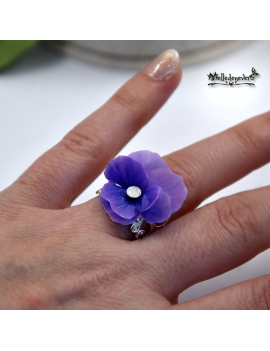 Lilac Pansy