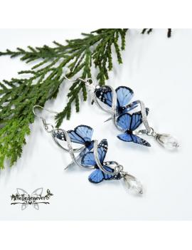 Blue Butterfly Monarch