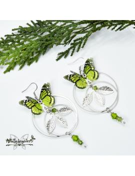 Papillon Monarque des Forêts