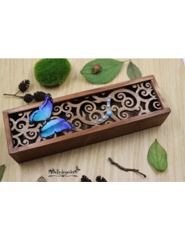 Dream Blue Butterfly Box