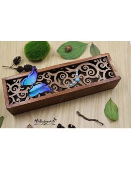 Boîte Papillon Bleu Rêveur